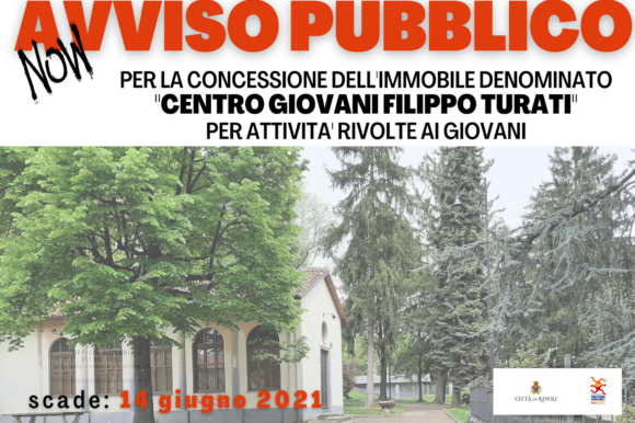 Avviso Pubblico Concessione Centro Giovani Parco F.Turati