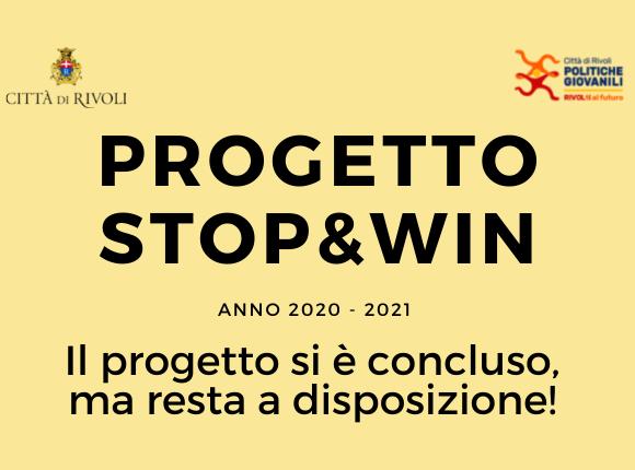 Stop!!! …& Win. La restituzione